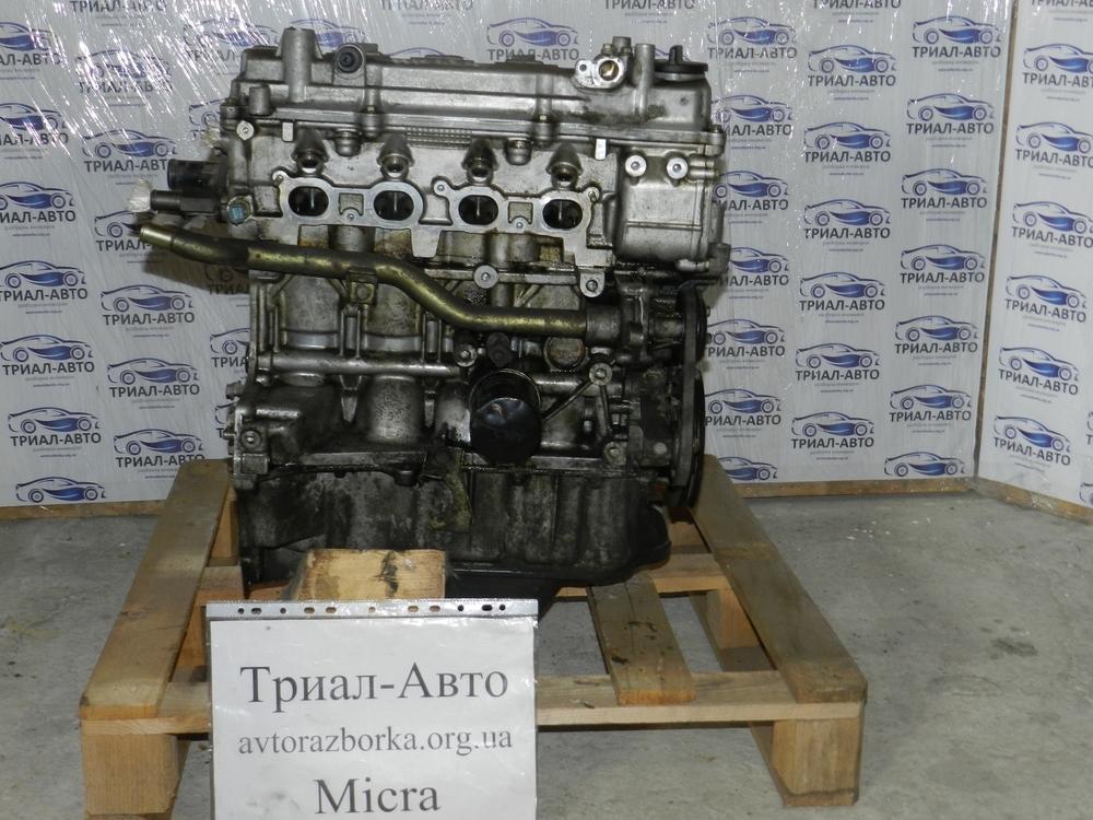 Двигатель на Nissan Micra