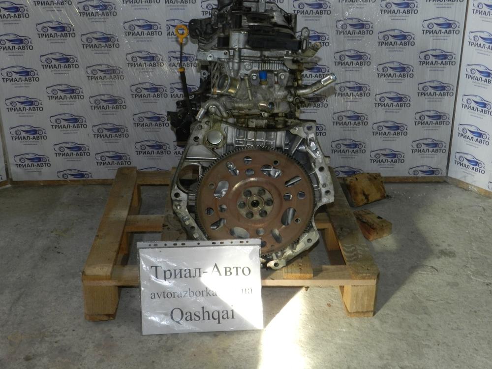 Двигатель на Nissan Qashqai