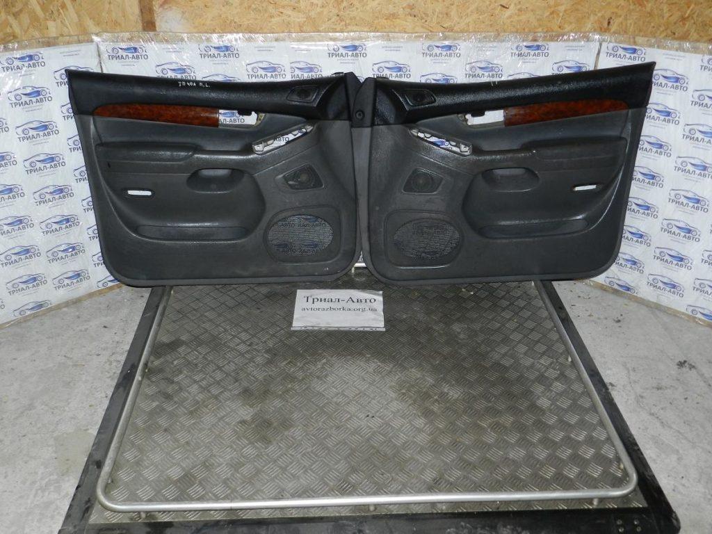 Салон кожаный на Toyota Prado 120