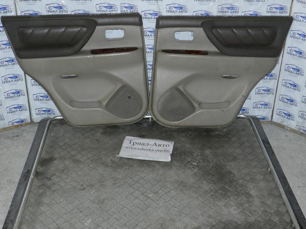 Салон кожаный на Toyota Land Cruiser 100