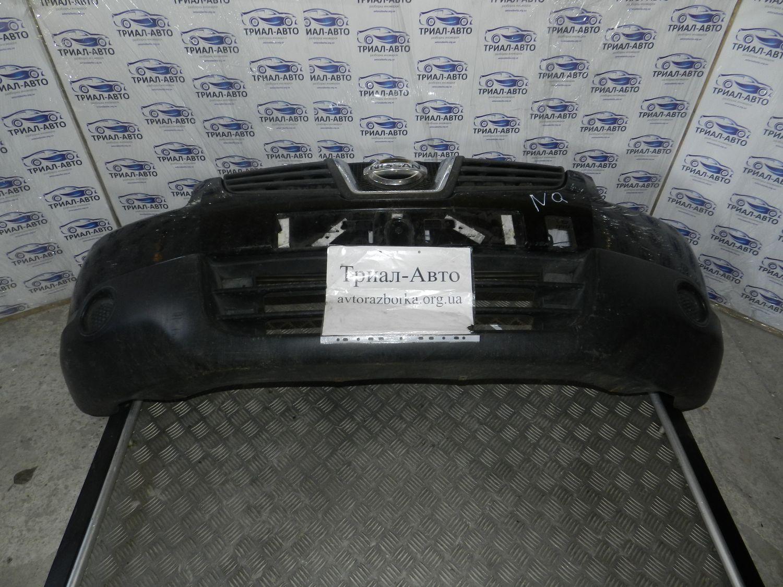 Бампер передний комплект (бампер, усилитель, решетки, абсорбер) Qashqai 2007-2013