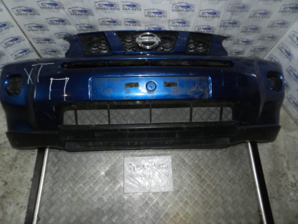 Бампер передний комплект (бампер, усилитель, абсорбер, решетки) X-Trail 2008-2014