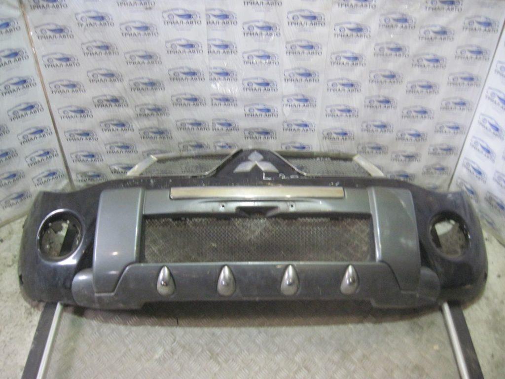 Бампер передний комплект (бампер, усилитель, решетки) L200 2006-2012