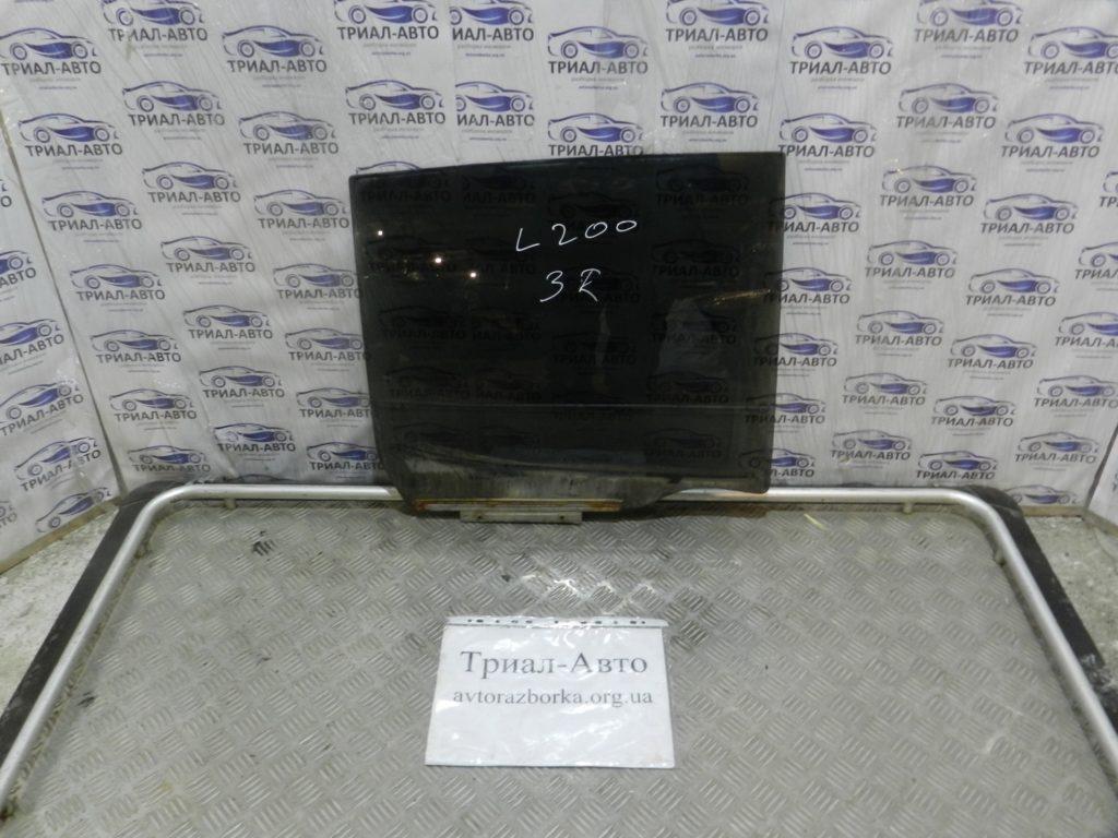 Стекло боковое заднее правое L200 2006-2012