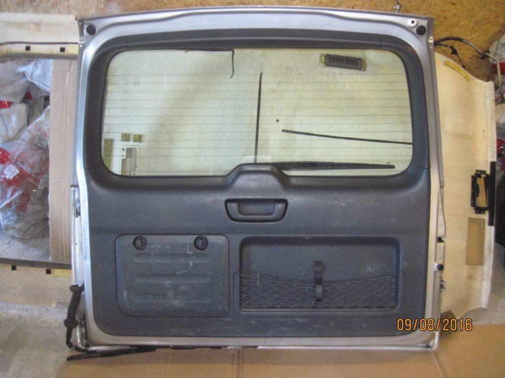 Крышка багажника Prado 120 2003-2009