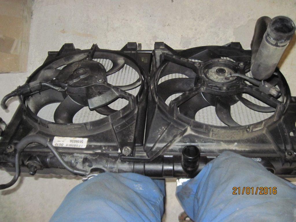 диффузор Cerato 2005-2008