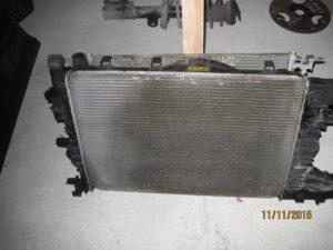 радиатор охлаждения Cruze 2009