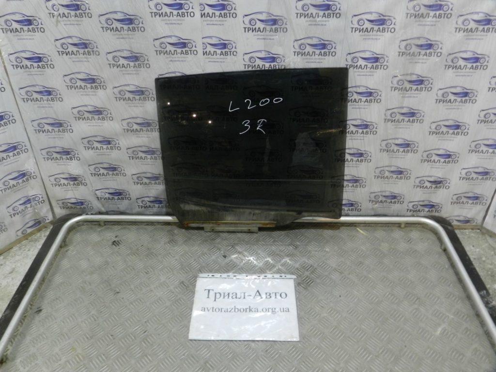 стекло боковое заднее правое L200 2006-2013