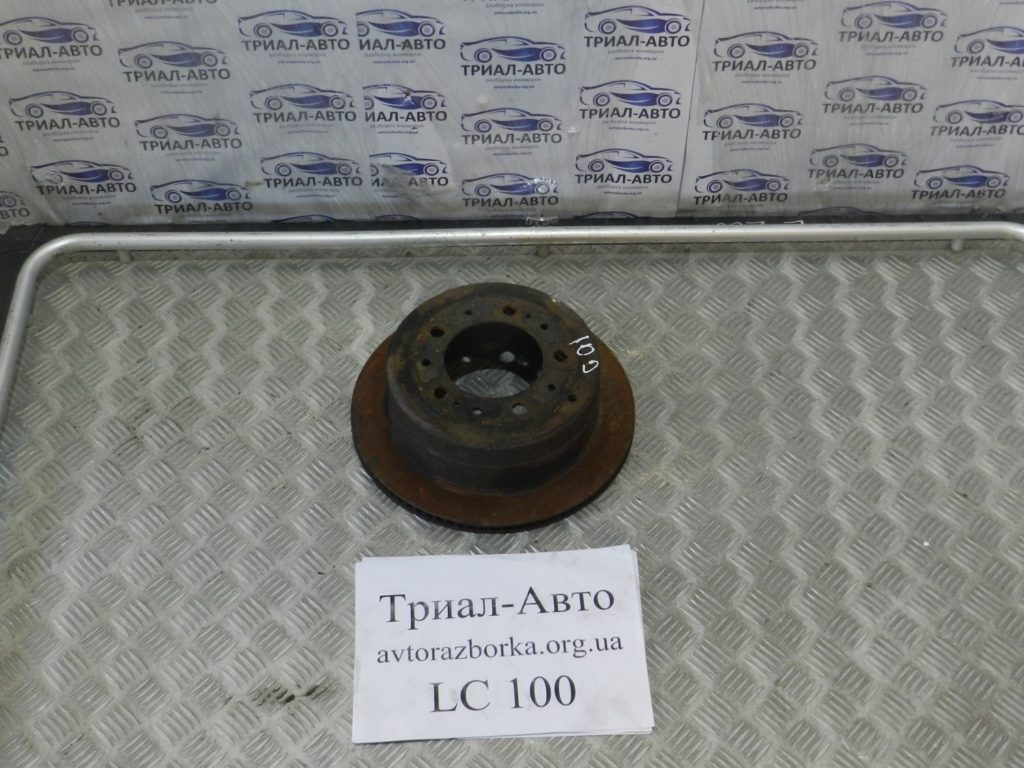 Диск тормозной задний пара Land Cruiser 100 1998-2006