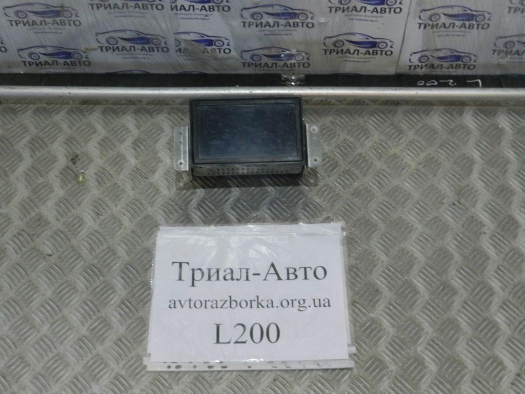 монитор большой L200 2006-2013