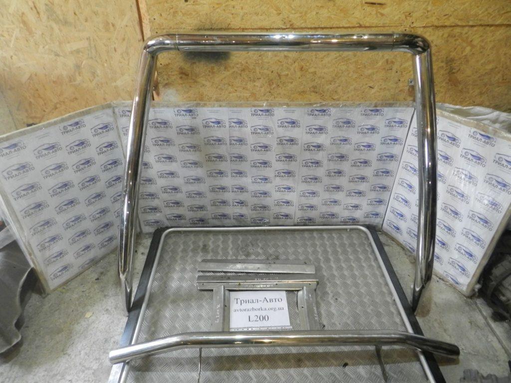 хром пакет(кунг, бампер, накладки порога) L200 2006-2013