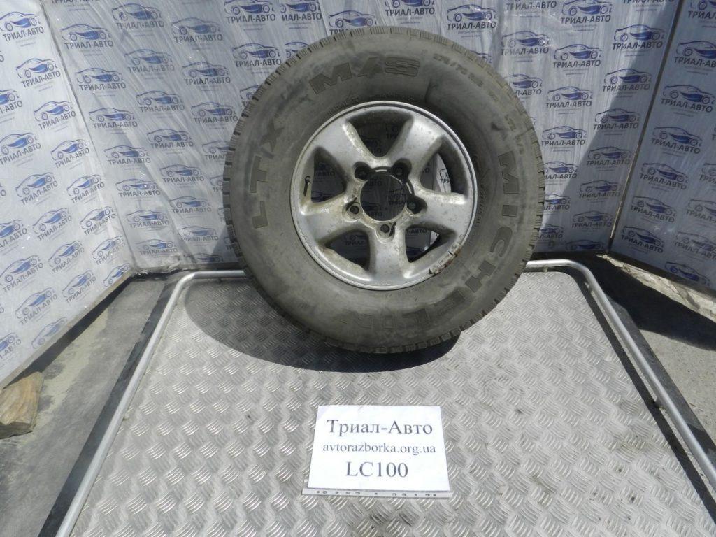 запаска с резиной титан R18 Land Cruiser 100 1998-2006