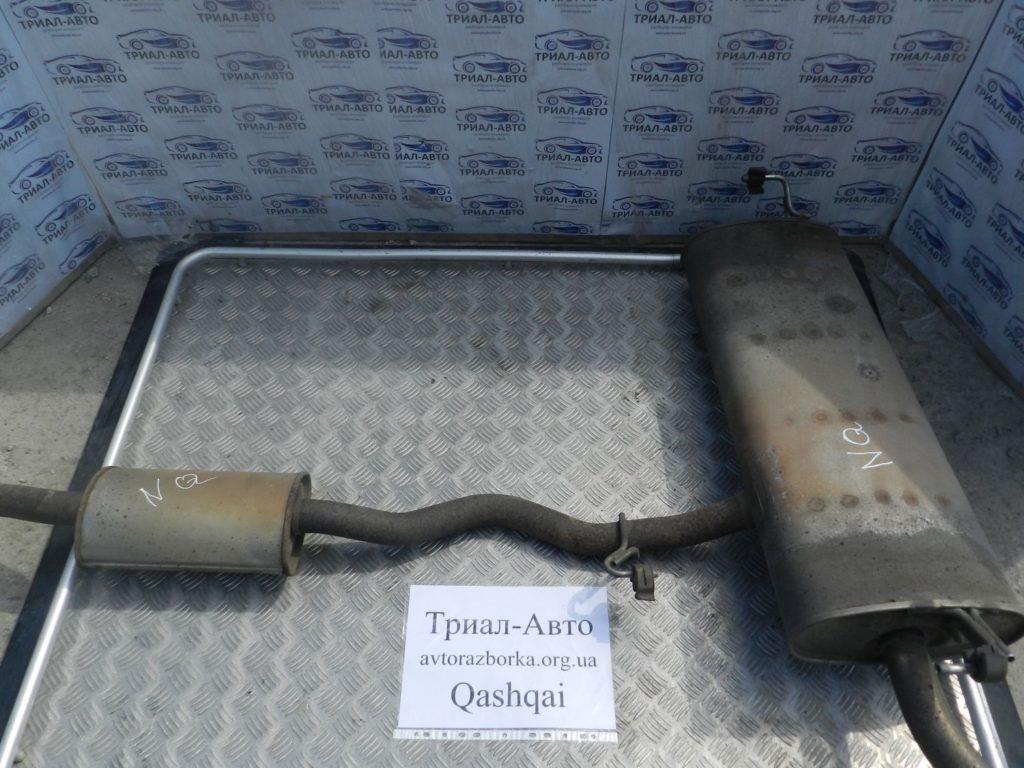 Глушитель целиком Qashqai 2006-2013