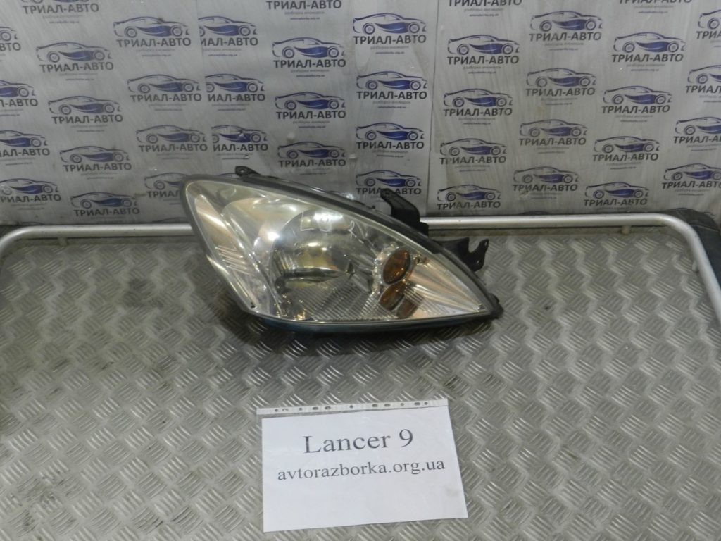 фара правая. Lancer 9 2003-2008
