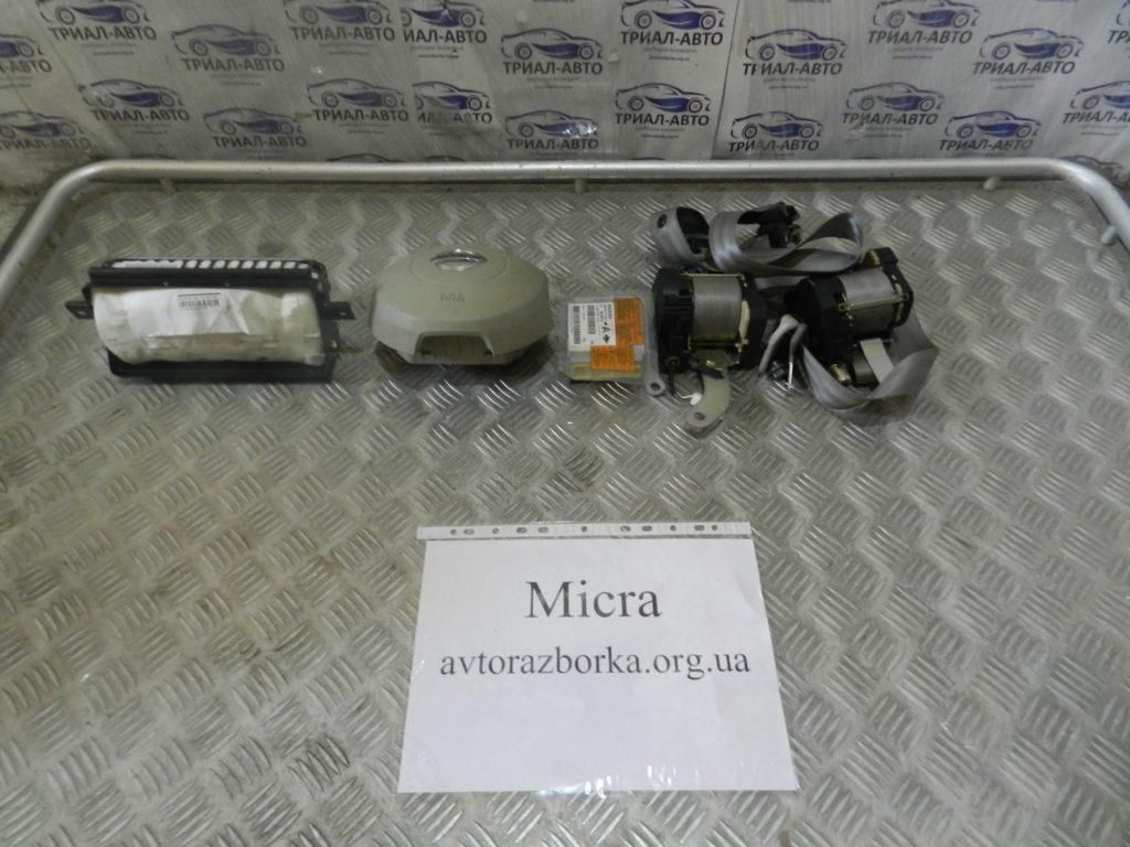 комплект безопасности Micra 2003-2010