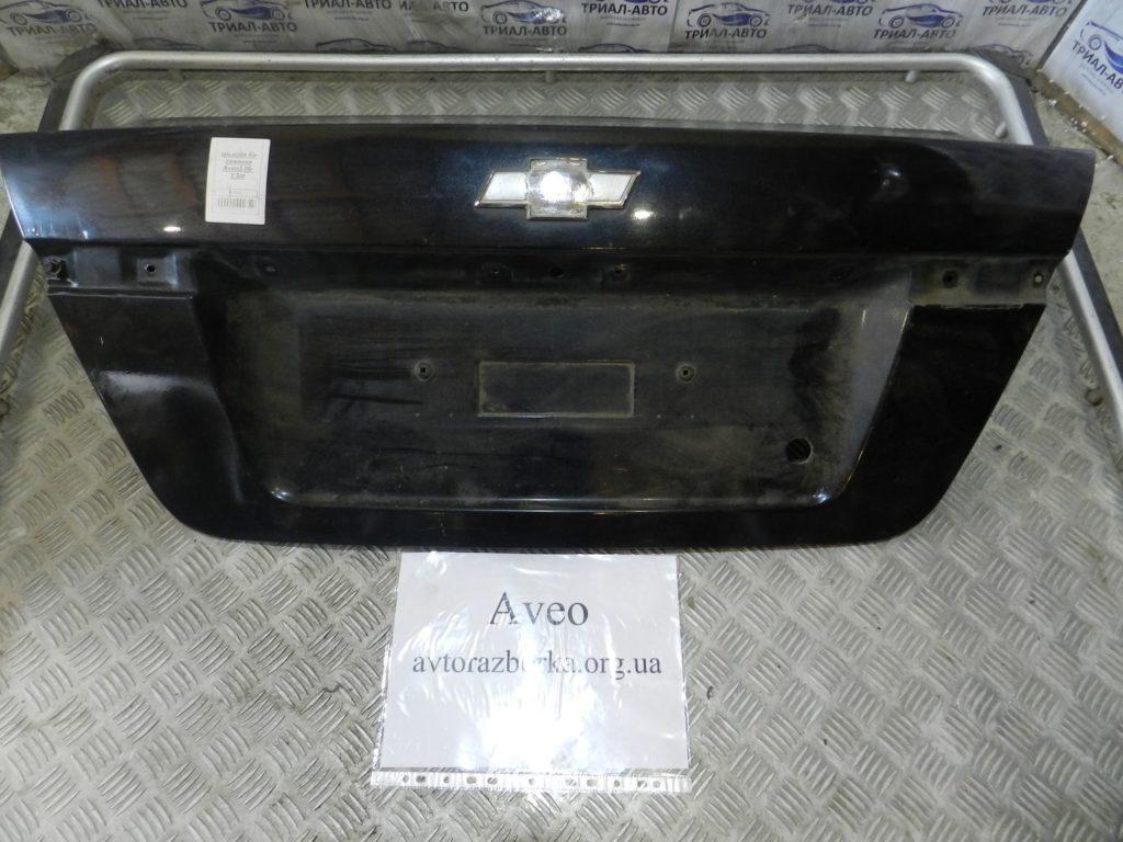крышка багажника Aveo 2006
