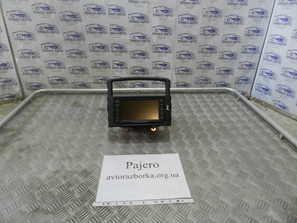 магнитофон штатный Pajero Wagon 3,2D 2007-2013