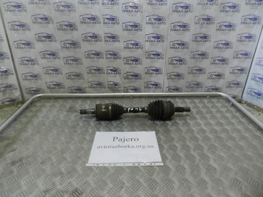 полуось передняя левая Pajero Wagon 3,2D 2007-2013