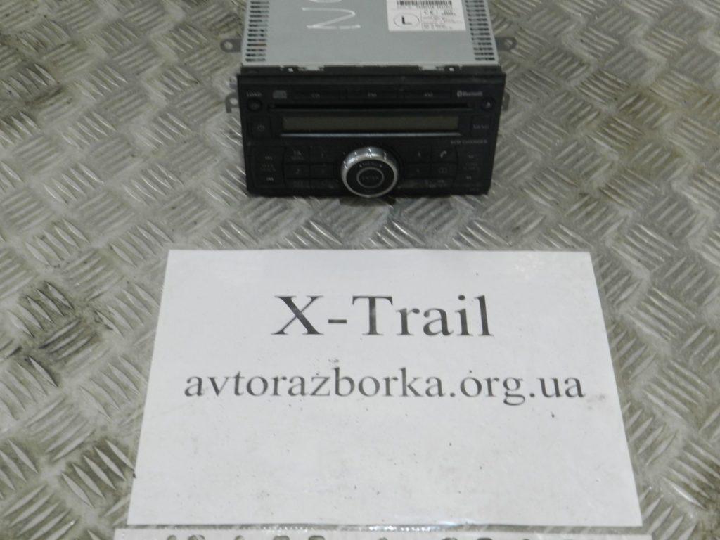магнитофон штатный X-Trail 2007-2013