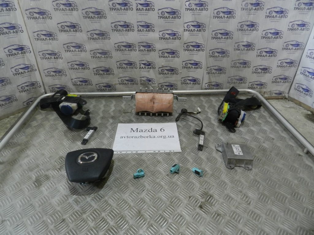 комплект безопасность англия Mazda 6 2008-2012