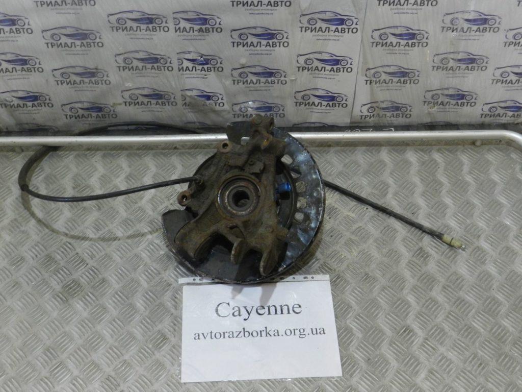 кулак поворотный левый  ступица Cayenne 2003-2009