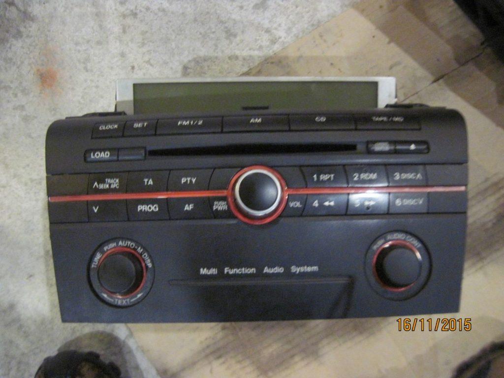 магнитофон Mazda 3 2003-2009