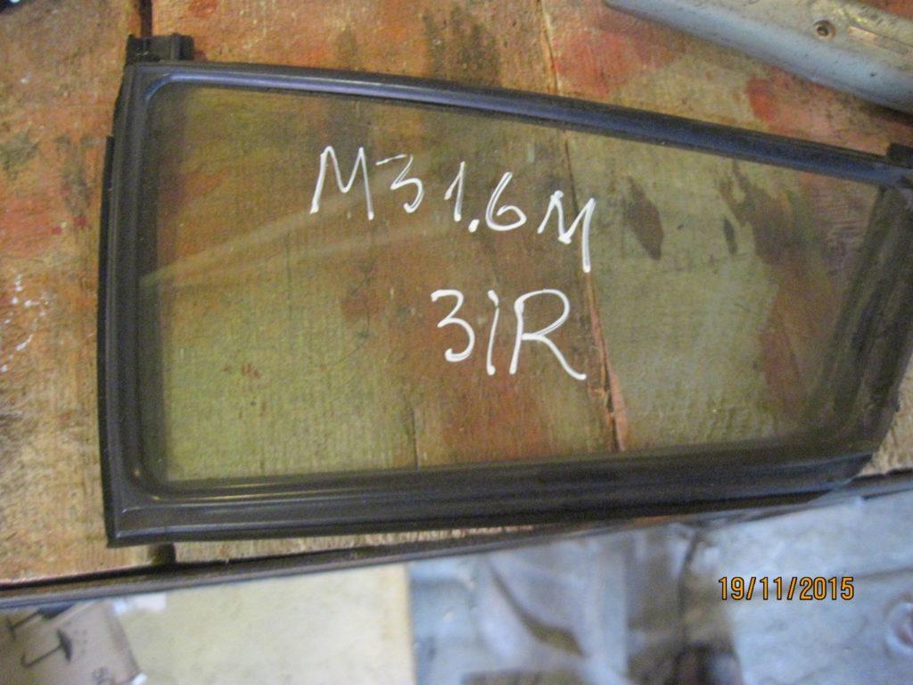 стекло заднее угловое правое. Mazda 3 2003-2009