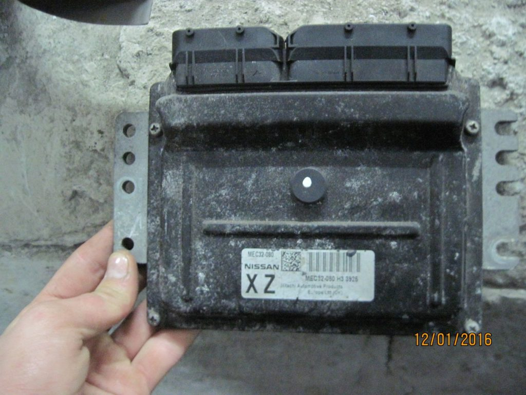 Блок управления двигателем Micra 2003-2010