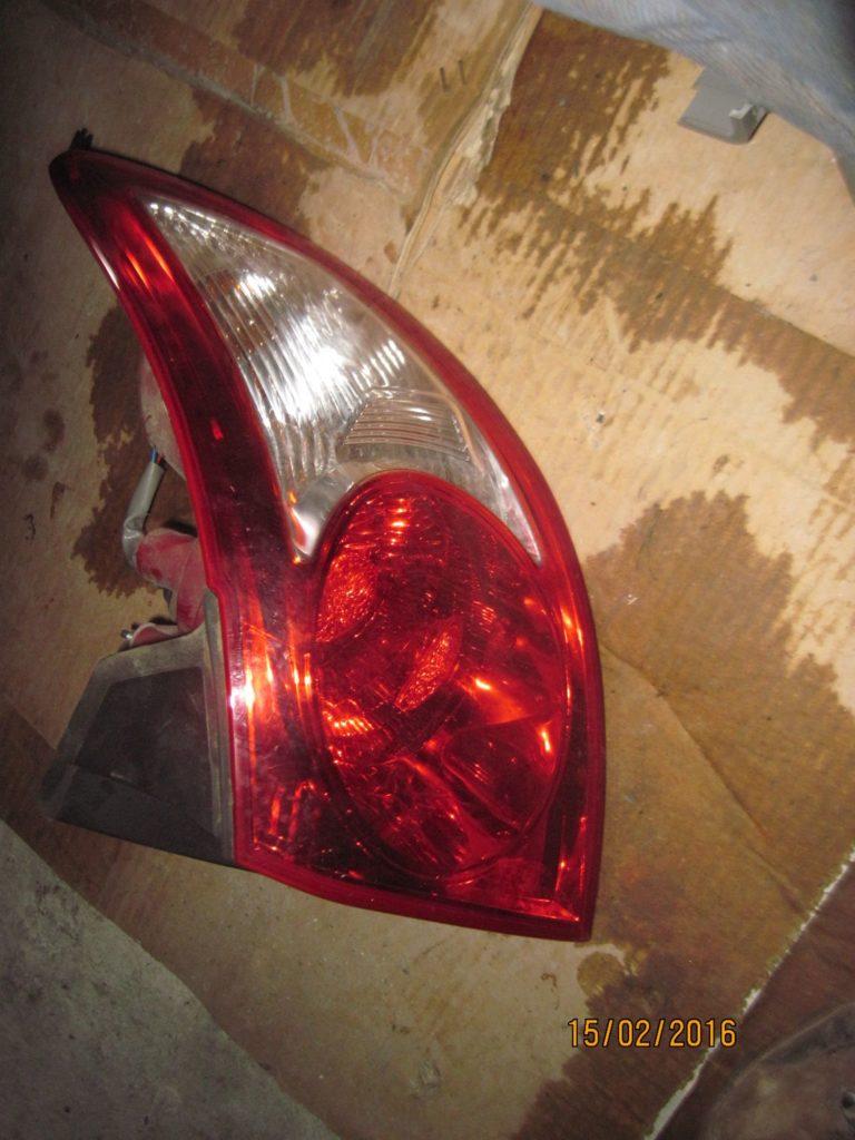 фонарь внешний правый. Santa FE 2006-2013
