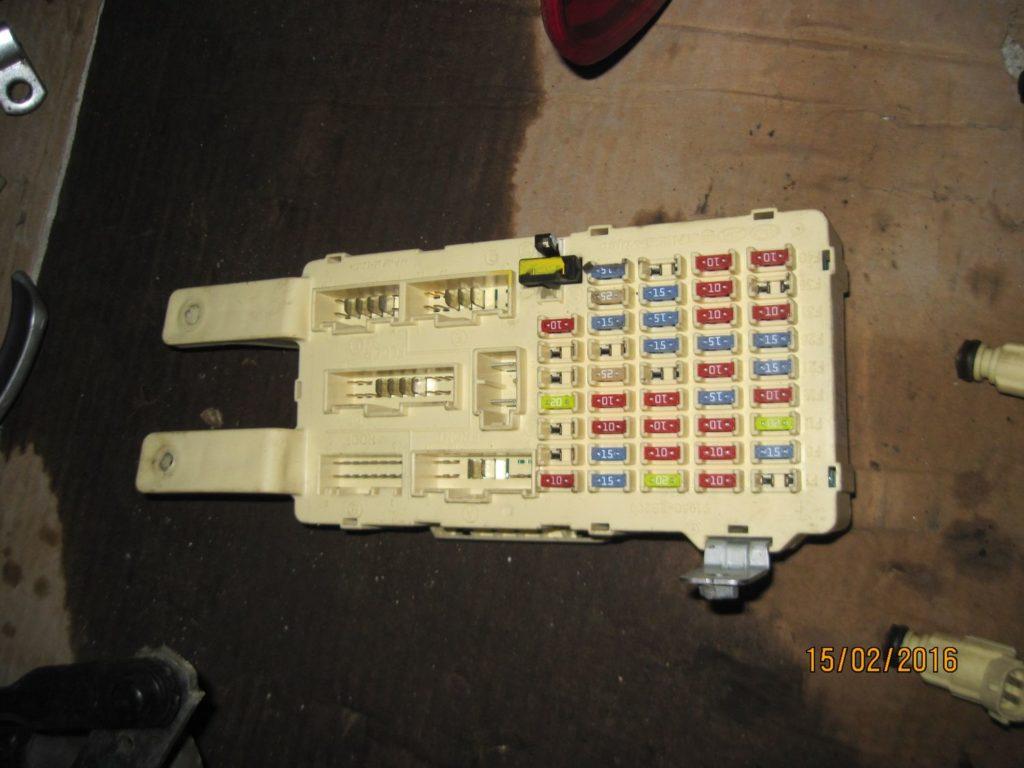 Блок предохранителей салона Santa FE 2006-2013
