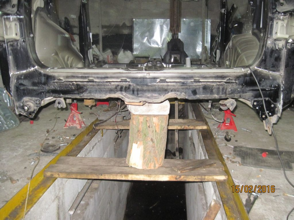панель кузова задняя Santa FE 2006-2013
