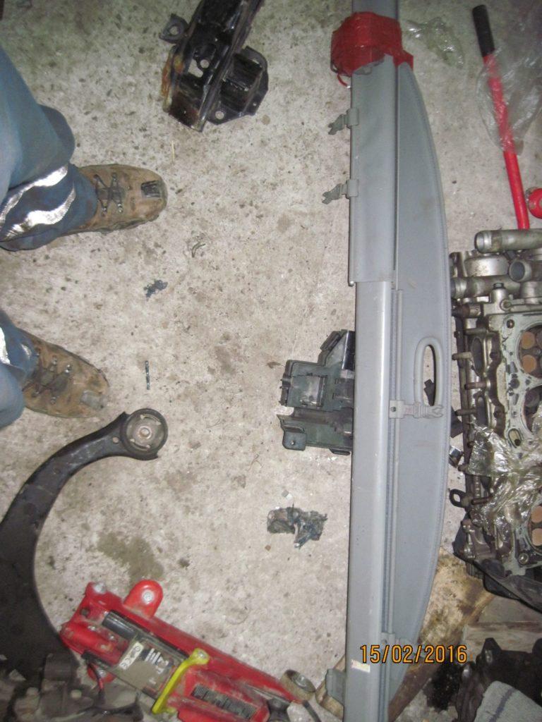 шторка багажника Santa FE 2006-2013