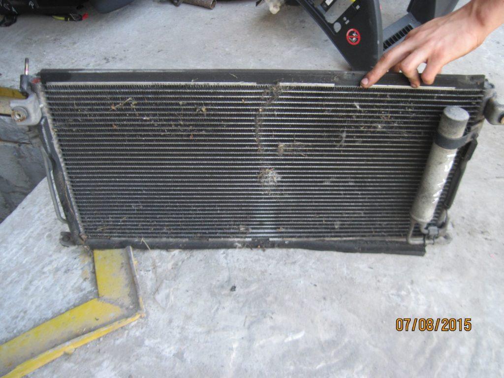 радиатор кондиционера Lancer 9 2003-2008