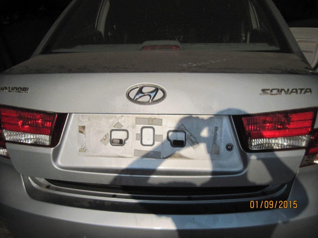 Крышка багажника на Hyundai Sonata 2004-2009