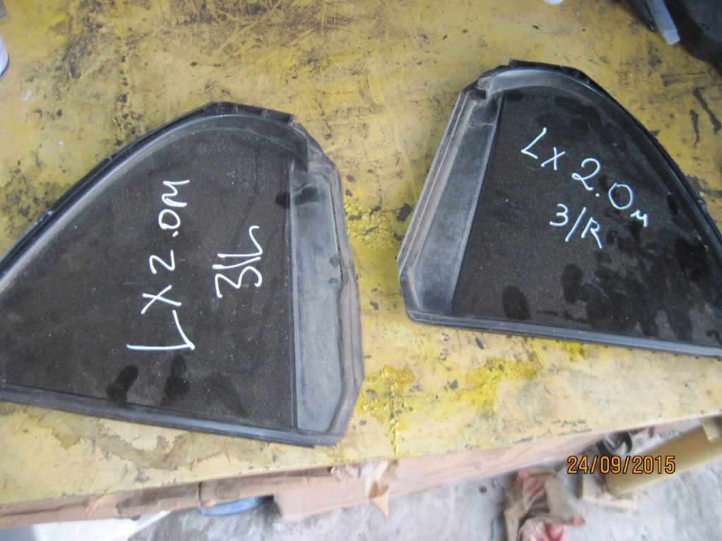 стекло заднее угловое правое. Lancer 10 2006-2013