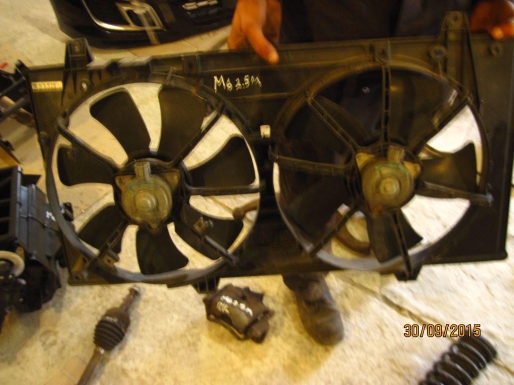 диффузор в сборе Mazda 6 2008-2012