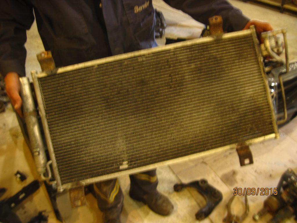 радиатор кондиционера Mazda 6 2008-2012