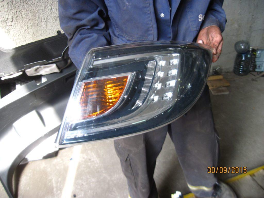 фонарь задний правый внешний Mazda 6 2008-2012