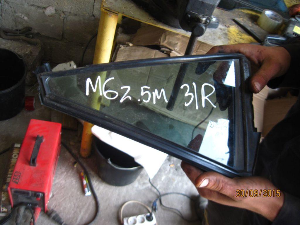 стекло двери угловое правое Mazda 6 2008-2012