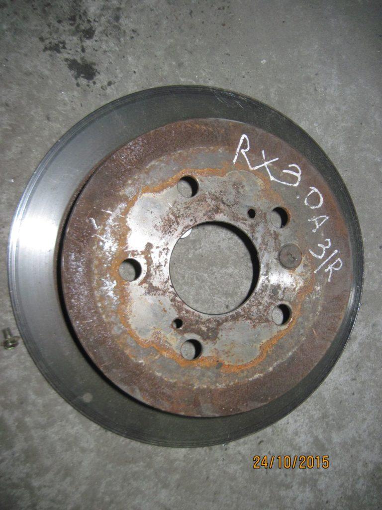 диск тормозной задний (пара) Lexus RX 300 2003-2009