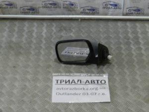 Зеркало левое на Mitsubishi Outlander 1 2003-2006 г.в.