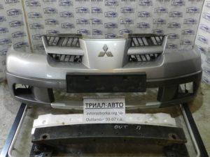 Бампер передний всборе на Mitsubishi Outlander 1 2003-2006 г.в.