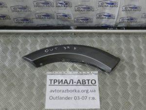 Накладка двери задняя правая на Mitsubishi Outlander 1 2003-2006 г.в.