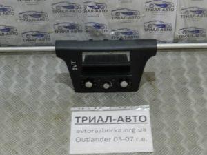 Блок управления кондиционером на Mitsubishi Outlander 1 2003-2006 г.в.