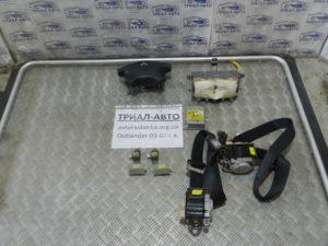 Комплект безопасности на Mitsubishi Outlander 1 2003-2006 г.в.