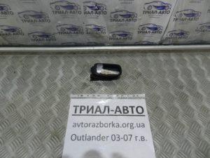 Ручка двери внутренняя передняя левая на Mitsubishi Outlander 1 2003-2006 г.в.
