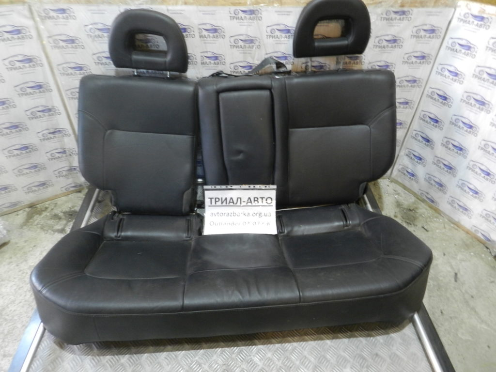 Салон кожаный на Mitsubishi Outlander 1