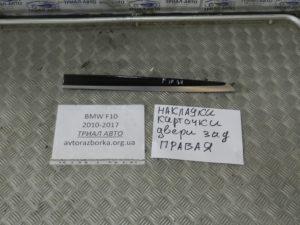 Накладка карты задняя правая на BMW F10-F11