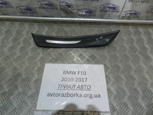 Накладка порога задняя левая на BMW F10-F11
