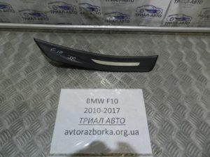 Накладка порога задняя правая на BMW F10-F11